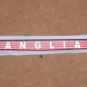 ANGLIA Front Badge Insert – Self Adhesive