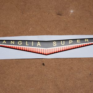 ANGLIA SUPER Front Badge Insert – Self Adhesive