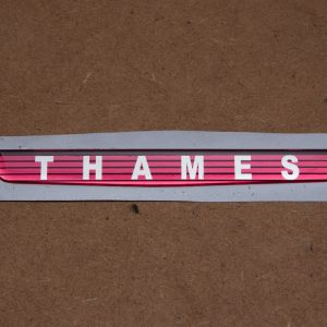 THAMES Front Badge Insert – Self Adhesive