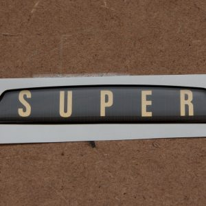 SUPER Boot Handle Badge – Self Adhesive
