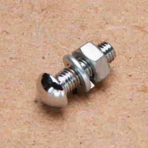 Bumper Bolt (high domed, chromed)