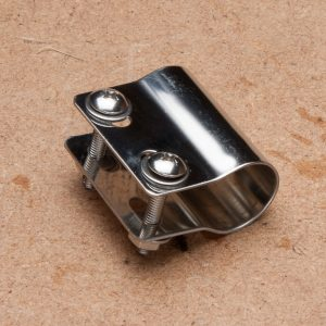 Badge Clamp – individual (for use with BT96) – stainless steel