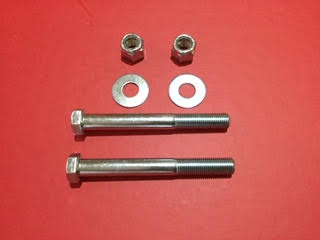 Rear Spring Front Eye bolt with Nyloc Nut and Washer – Pair