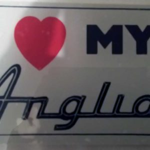 I love my Anglia sticker