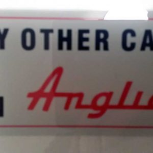 My other car is an Anglia Sticker