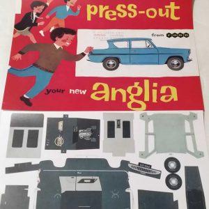 Reproduction Model Anglia Pressouts