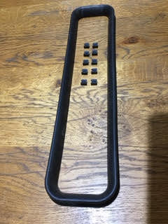 Seal (Heater Unit to Bonnet Top) with 10 clips