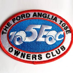 Embroidered Club Badge (105eoc logo)