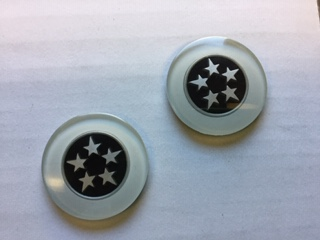 Custom Pillar Badges – Option 3 (High Quality Pair)