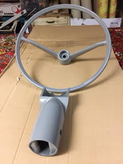 Steering Wheel and Column Cowling – Grey