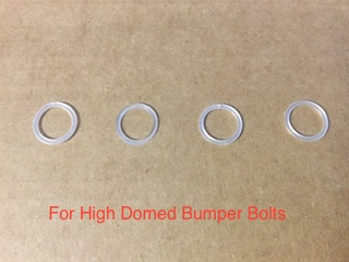 Plastic Protector Washer for High Domed Bumper Bolt (Pack of 4)