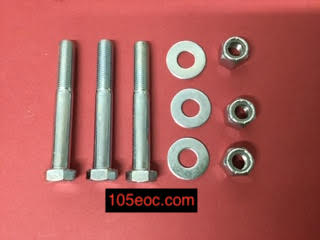 Steering Box To Chassis (Bolt, Nyloc Nut and Washer) – 3 pack