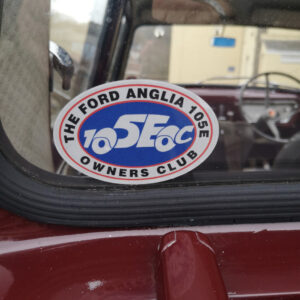 Club Sticker – Oval